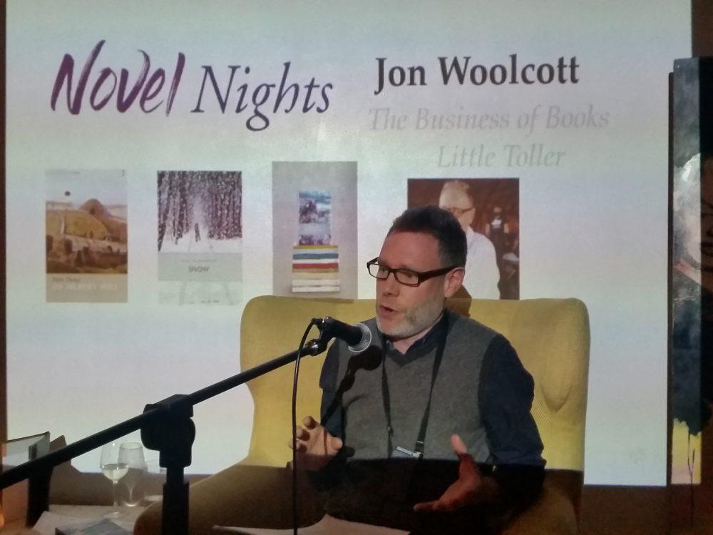 Jon Woolcott at Novel Nights