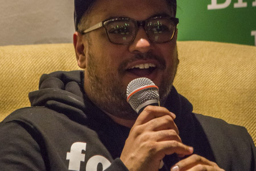 Photo gallery from Novel Nights and Bristol Festival of Lit event with Nikesh Shukla