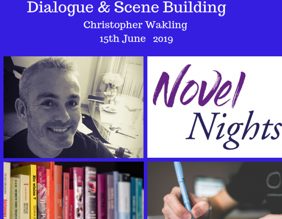 Masterclass 15th June Dialogue and Scene Building Chris Wakling
