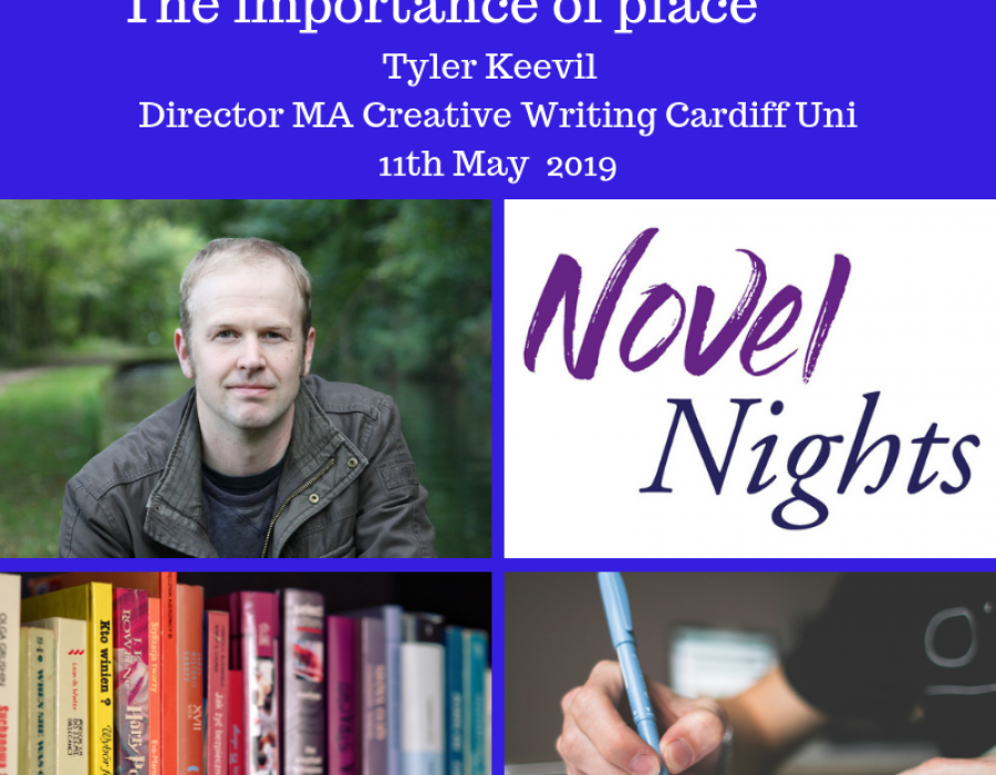 Masterclass: 11th May The Importance of Place to Improve your Fiction