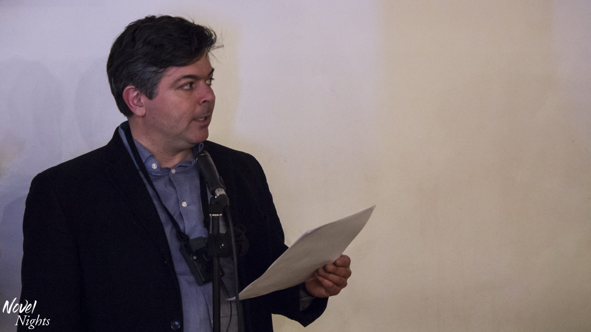 Pitching to an agent at CrimeFest by Merlin Goldman