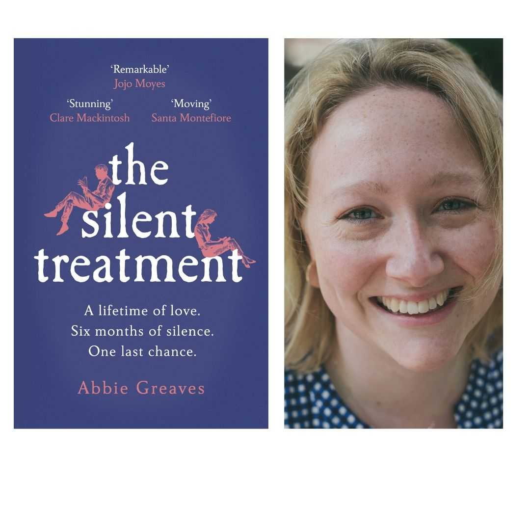Image of book cover for The Silent Treatment and author, Abbie Greaves