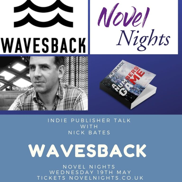 Novel NIghts indie publishing with Nick Bates Wavesback